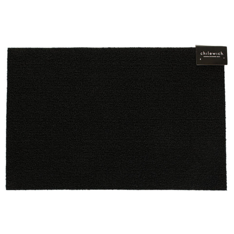 Chilewich Solid Black Utility Mat