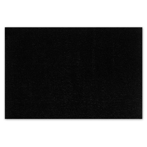 Chilewich Solid Shag Big Mat - BLACK