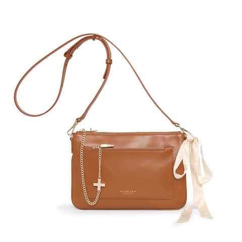 Dylan Kain The Margot Bag Tan Light Gold