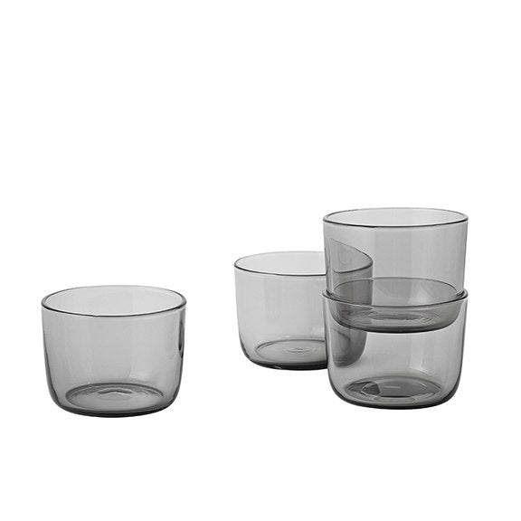 Muuto Corky Drinking Glasses Low - Grey