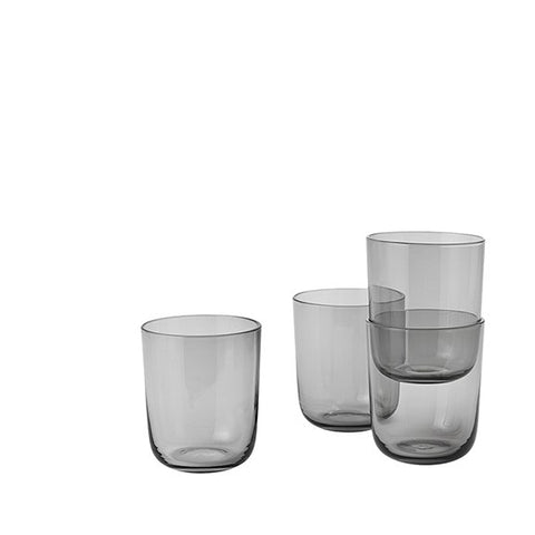 Muuto Corky Drinking Glasses Tall - Grey