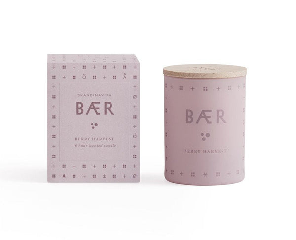 SKANDINAVISK Scented Candle Baer (Berry) Small