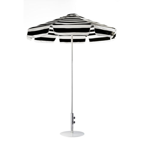 Basil Bangs Umbrella 1.9m Go Large CHAPLIN STRIPE