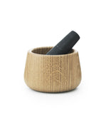 Normann Copenhagen Craft Mortar & Pestle Black