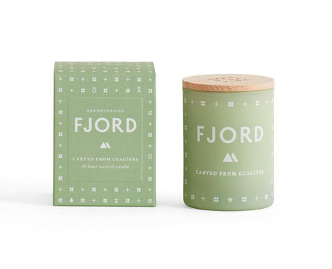 SKANDINAVISK Scented Candle Fjord (F-YOR) Small