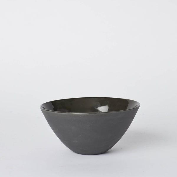 Mud Flared Bowl Medium Slate