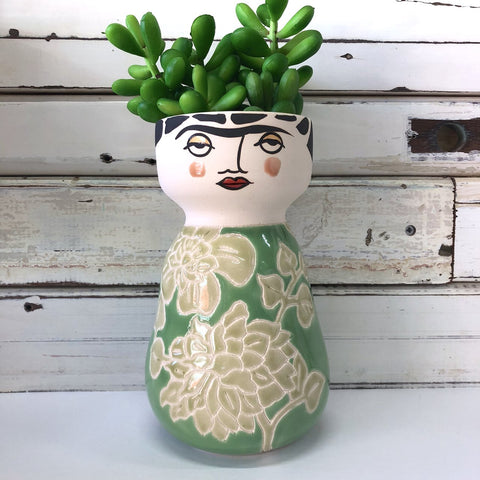 Frida Face Vase - instore only