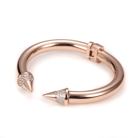 Carly Paiker Spike Cuff Rose Gold
