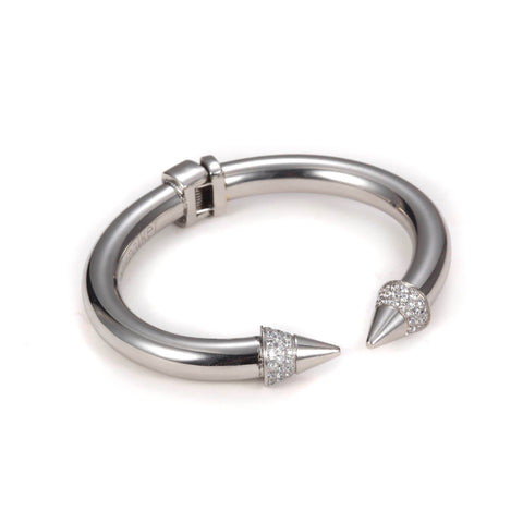 Carly Paiker Spike Cuff Silver