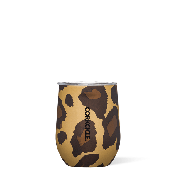 Corkcicle - Luxe Leopard Stemless