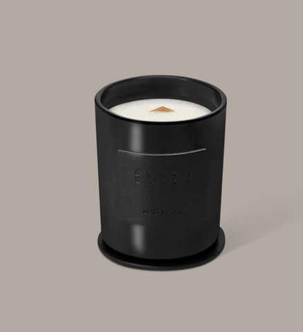 Black Blaze Beach Bonfire Scented Candle