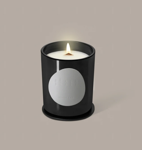 Black Blaze Vetiver & Fig Scented Candle