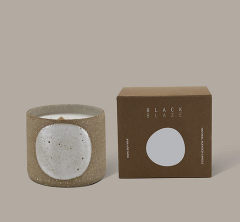 Black Blaze Koyo Scented Ceramic Candle