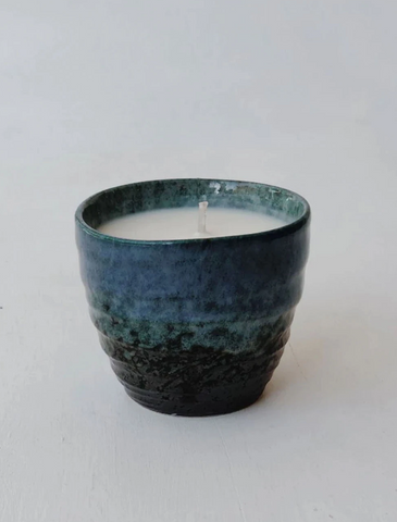 Japanese Ceramic Candle - Madara (Komorebi)