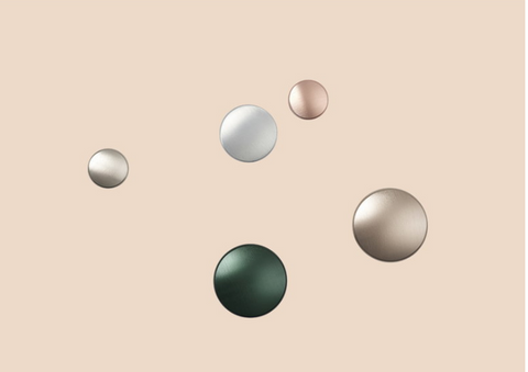 Muuto Dots - Metal ROSE - Single Dot 5cm