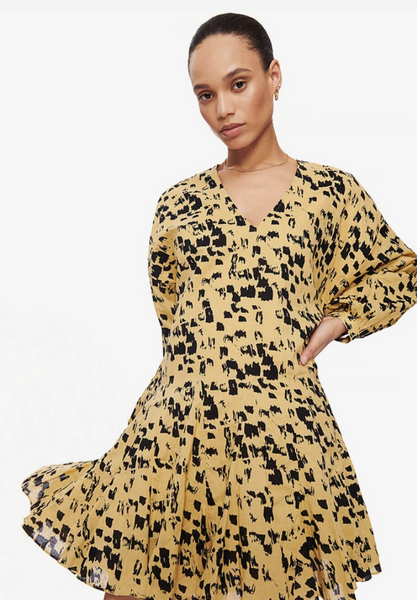 Anine Bing Peyton Dress - Painterly Leo