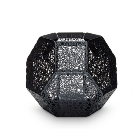 Tom Dixon Etch Tea Light Holder - Dot Black