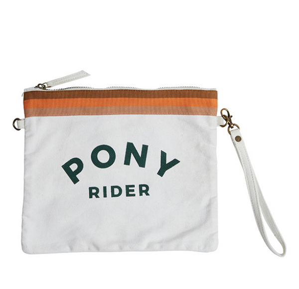 Pony Rider Pouch - Natural