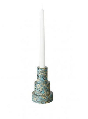 Tom Dixon Swirl Stepped Candleholder