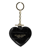Dylan Kain Heart Keychain Light Gold