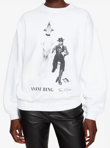 Anine Bing Ramona Sweatshirt AB x To David Bowie