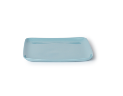 Mud Platter Square Medium - Duck Egg Blue