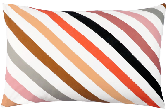 CASTLE Candy Stripe Pillowcase