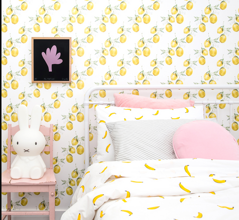 CASTLE Banana Pillowcase