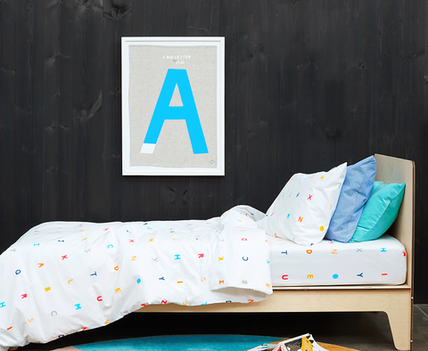 CASTLE Alphabet Pillowcase