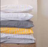 CASTLE Yellow Dot Pillowcase