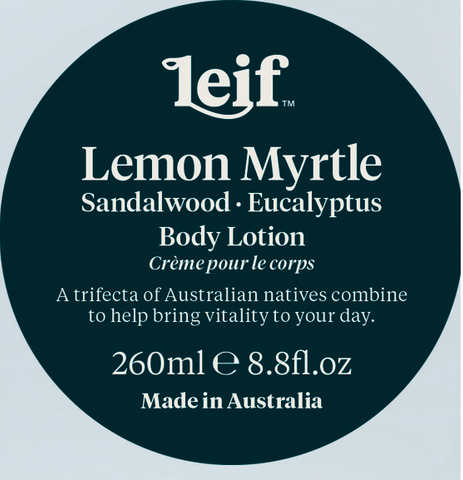 Leif Lemon Myrtle Body Lotion 260ml