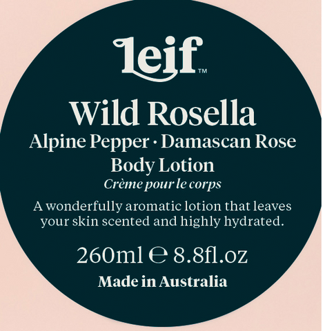 Leif Wild Rosella Body Lotion 260ml