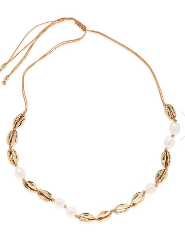 Carly Paiker Calypso Necklace Gold