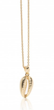 Carly Paiker Athena Cowrie Pendant Gold