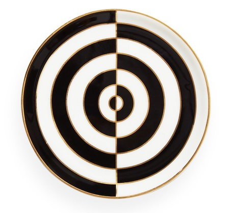 Op Art Coaster Single by Jonathan Adler