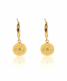 Carly Paiker Helios Coin Earrings - Gold
