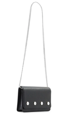Dylan Kain The Sienna Snake Bag - Silver