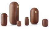 Normann Copenhagen Little Bird 10cm Walnut