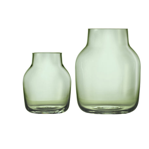Muuto Silent Vase - Green small