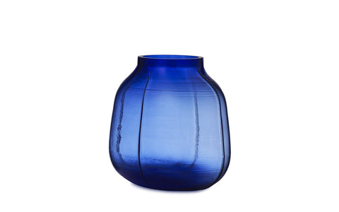 Normann Copenhagen Step Vase Blue - 23cm