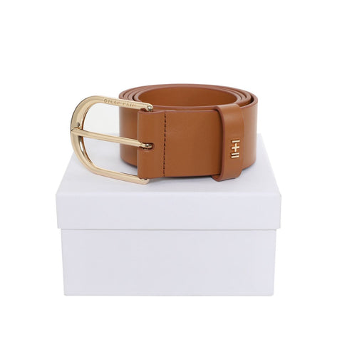 Dylan Kain The Nika Belt Tan Light Gold