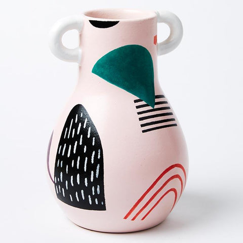 Magic Mountain Pink Vase