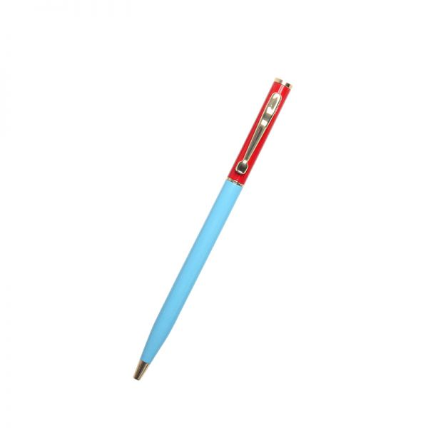 Alice Pleasance Small Pen - Red and Blue