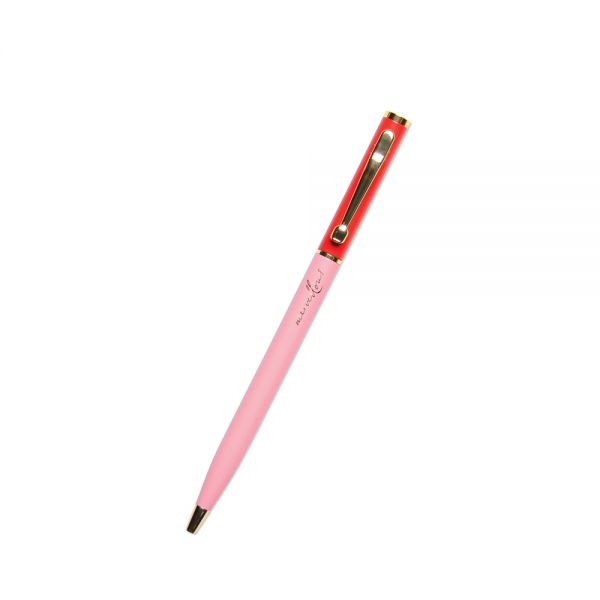 Alice Pleasance Small Pen - Orange and Pink - Marvellous