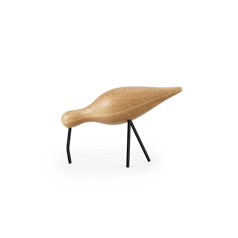Normann Copenhagen Shorebird Large Oak/Black