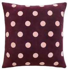CASTLE Violet Spot Cushion