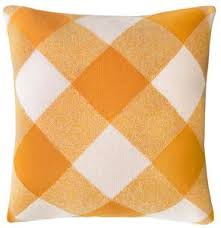 CASTLE Tartan Knit Cushion