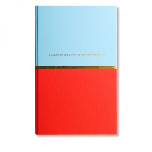 Alice Pleasance Notebook Red & Blue