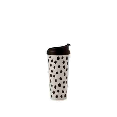 Kate Spade Travel/Thermal Mug Flamingo Dot