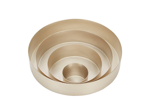 Tom Dixon Orbit Trays Small Silver